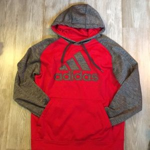 Men's Adidas hooded sweatshirt